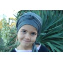 Turban PIRATE Gris souris