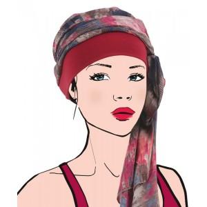 Foulard AVENTURINE rouge